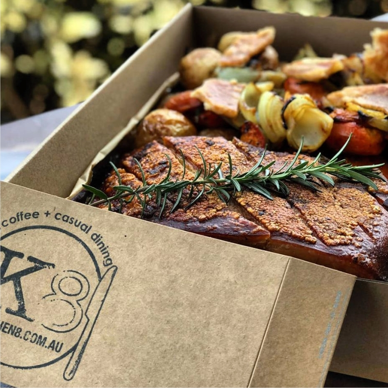 Catering from K8tering at Kitchen 8 Northgate Brisbane